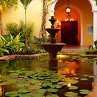 Fountain at Villa Merida by kuntaldaftary