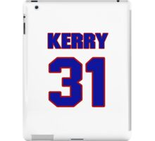 National football player Kerry Porter jersey 31 iPad Case/Skin