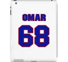 National football player Omar Smith jersey 68 iPad Case/Skin