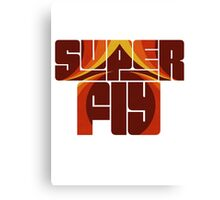 Syper fly Canvas Print