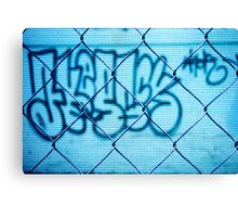 Street tag Canvas Print