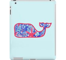 Lilly Pulitzer Whale She Sells Sea Shells iPad Case/Skin