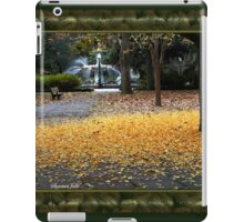 A Carpet of Golden Leaves iPad Case/Skin