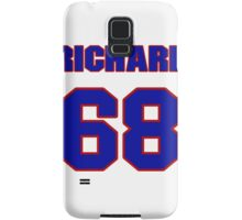 National football player Richard Neal jersey 68 Samsung Galaxy Case/Skin