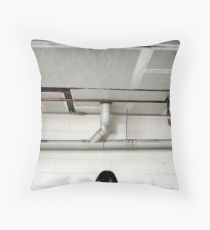 The One About Kitty. Throw Pillow