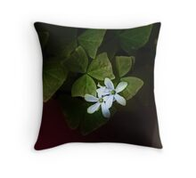 Fight From Darkness Throw Pillow
