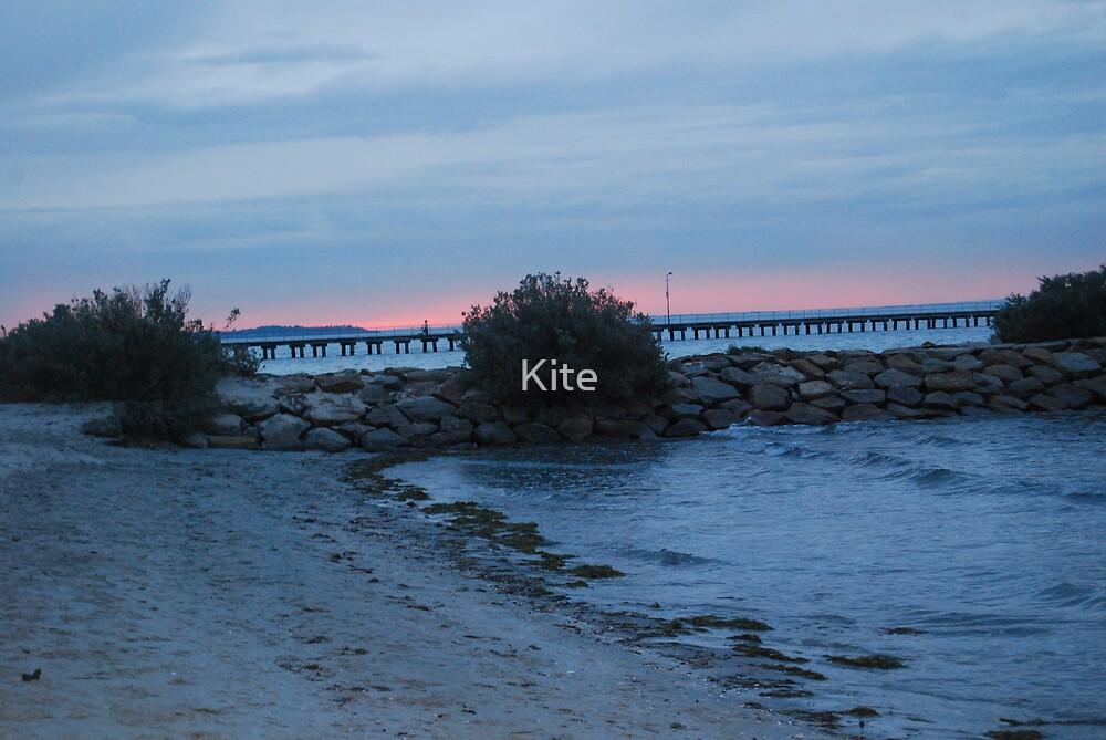 Dusk by Kite