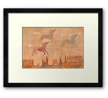 Spirit Horse Mesa Framed Print
