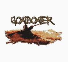 Goatboater  T-shirt by phil hemsley