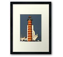 old lighthouse Framed Print