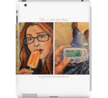 """""""Yes, I Can Eat That"""" iPad Case/Skin"""