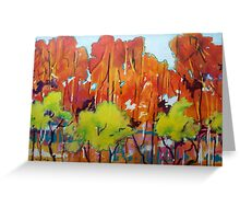 Jazz The Trees Greeting Card