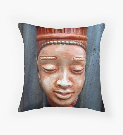 Immortalized in clay Throw Pillow
