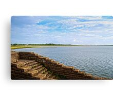 Lonely Lake Canvas Print