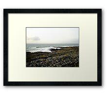 Irish Coast  Framed Print