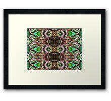 pattern series 13 Framed Print