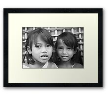 Girls Framed Print