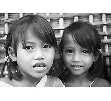 Girls Photographic Print