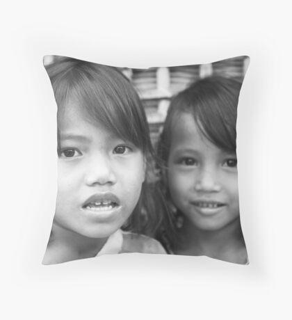 Girls Throw Pillow