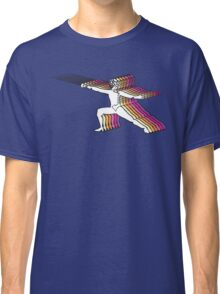 Fencer In Color Motion 2 Classic T-Shirt