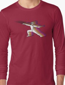 Fencer In Color Motion 2 Long Sleeve T-Shirt