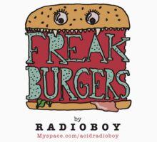 FREAK BURGERS BRAND by RADIOBOY by radioboy