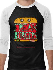 FREAK BURGERS BRAND by RADIOBOY Men's Baseball ¾ T-Shirt