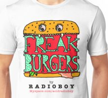 FREAK BURGERS BRAND by RADIOBOY Unisex T-Shirt