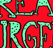 FREAK BURGERS BRAND by RADIOBOY Sticker