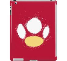 Mushroom Splatter Abstraction iPad Case/Skin