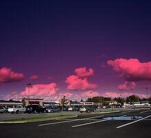 Sky Over Suburbia by mtda