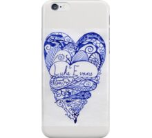 Luke Evans Heart Design iPhone Case/Skin