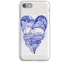 Luke Evans Heart Design iPhone Case/Skin