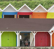 Beach Huts 'n' Boiled Sweets by flow4