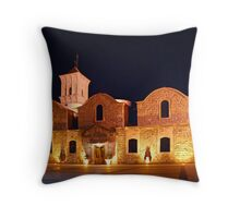 St Lazarus Church Throw Pillow