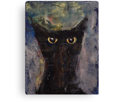 Ninja Cat Canvas Print