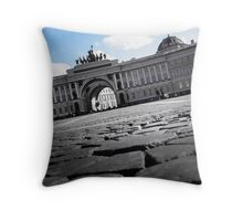 Winter Palace Square - St. Petersburg, Russia. Throw Pillow
