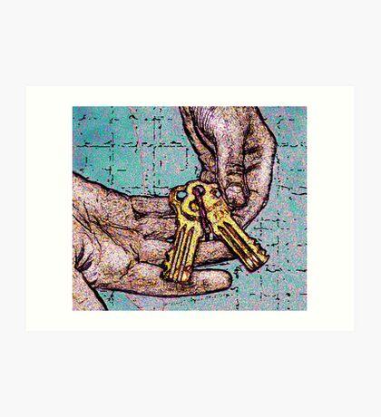 The Keys to Alkatraz -Lock Down Art Print