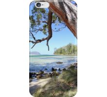 Bruny Island's Cloudy Bay Lagoon entrance iPhone Case/Skin