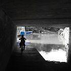 Boy, Bike & Boat In Blue by PhotogeniquE IPA
