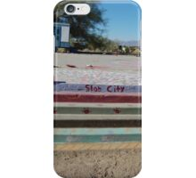 a slab in slab city iPhone Case/Skin