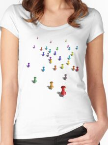 (You Are Here) Women's Fitted Scoop T-Shirt