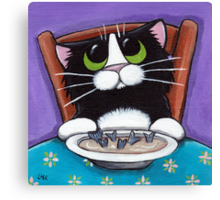 Fish Tail Soup Canvas Print
