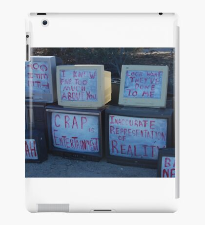 real reality tv iPad Case/Skin