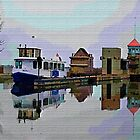 At The Locks-Art Print-Mugs,Cases,Duvets,T Shirts,Stickers,etc by Robert Burns