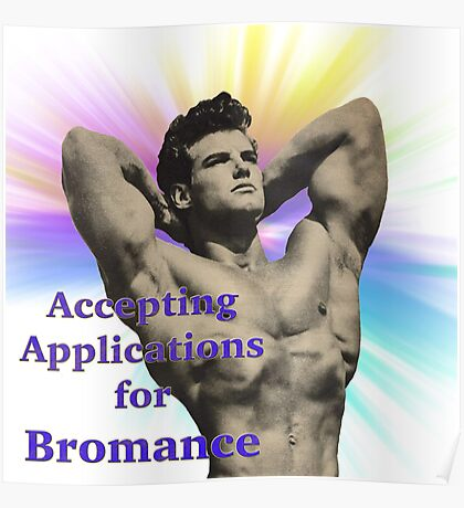application for bromance Poster