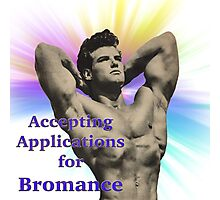application for bromance Photographic Print