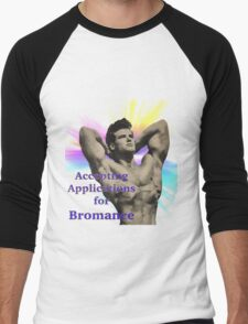 application for bromance Men's Baseball ¾ T-Shirt