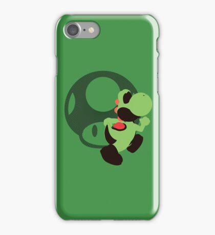 Yoshi (Mario) - Sunset Shores iPhone Case/Skin