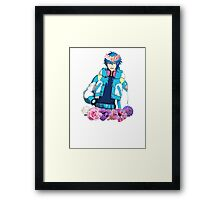 Precious Flower Child Framed Print